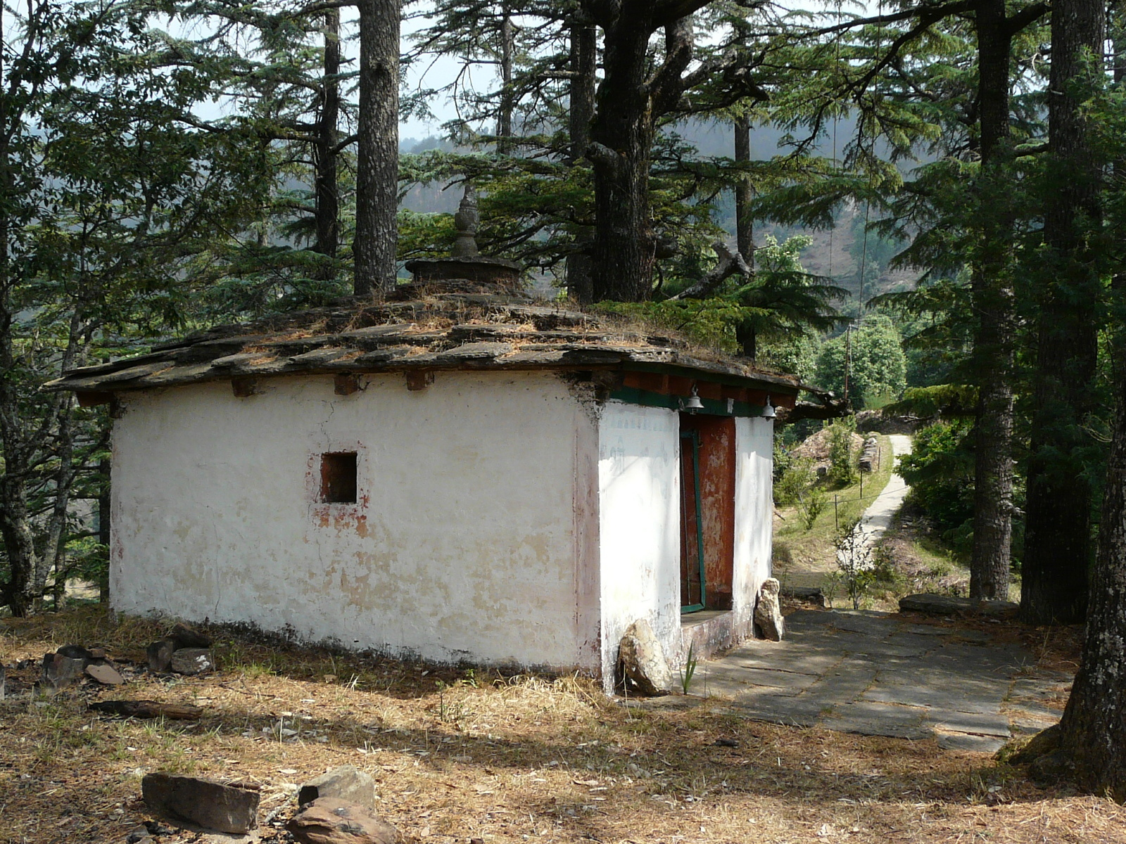 village-old-hut